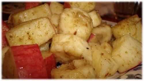 りんご&バナナのチャット.JPG